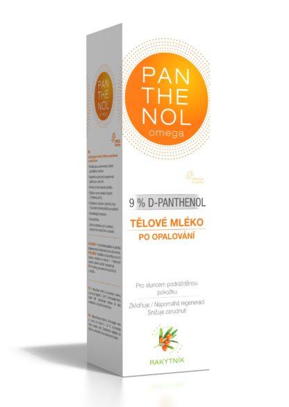 Panthenol Omega Tělové mléko Rakytník 9% 250ml