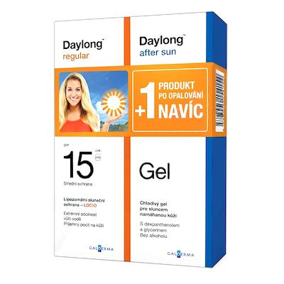 Daylong regular SPF 15 200ml + After Sun Gel NAVÍC