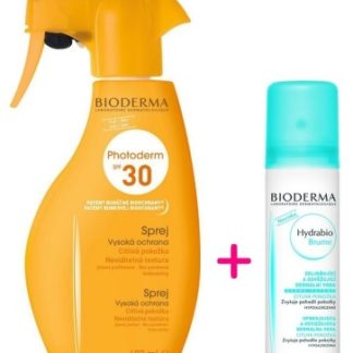 BIODERMA Photoderm Family spray SPF30 400ml + Hydrabio Brume 50ml ZDARMA