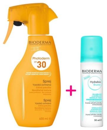 BIODERMA Photoderm Family spray SPF30 400ml + Hydrabio Brume 50ml ZDARMA