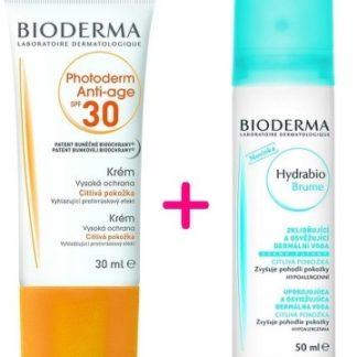 BIODERMA Photoderm Anti Age SPF30 30ml + Hydrabio Brume 50ml