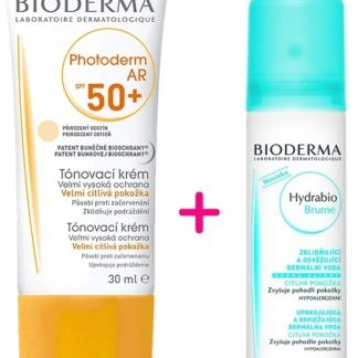 BIODERMA Photoderm AR SPF50 30ml + Hydrabio Brume 50ml ZDARMA