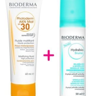BIODERMA Photoderm AKN Mat Fluid SPF30 40ml + Hydrabio Brume 50ml