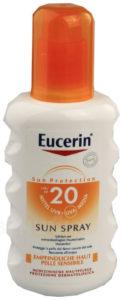 EUCERIN SUN SPF20 Sprej na opalování 200ml 2+1 zdarma