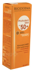 BIODERMA Photoderm MAX tónovaný krém SPF50+ 40ml