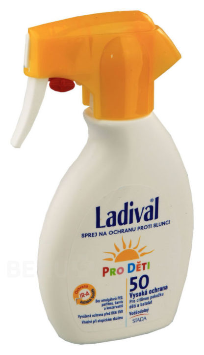 LADIVAL OF50 sprej ochrana proti slunci děti 200ml