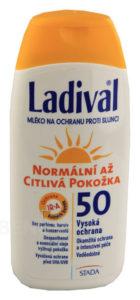 LADIVAL OF50 lotion norm.až citl.kůže 200ml