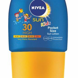 NIVEA SUN Dětské mléko na opalování OF30 kapesní 50ml