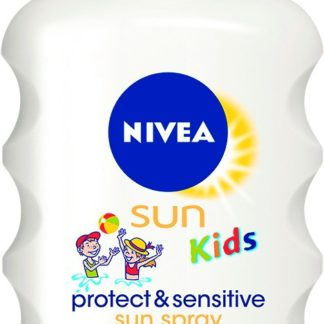 NIVEA SUN Dětský sprej na opalování Sensitive OF50+ 200ml