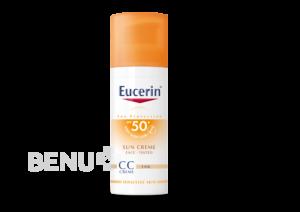 EUCERIN SUN CC krém opalov.SPF50+ světlý 50ml 2+1 zdarma