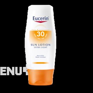 EUCERIN SUN Extra lehké mléko SPF30 150ml 63845 2+1 zdarma