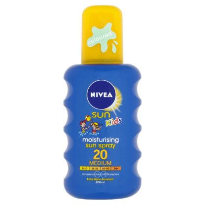 NIVEA SUN Dětský barevný sprej OF20 200ml