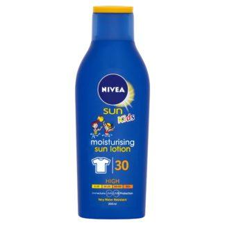 NIVEA SUN Dětské mléko na opalování OF30 200ml