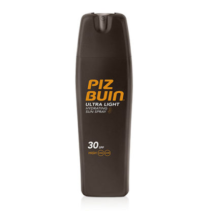 Piz Buin Ulta Light Sun Spray SPF 30 sprej na opalování SPF 30 200 ml