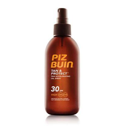Piz Buin Tan Accelerating Oil Spray SPF 15 opalovací olej urychlující opalování SPF 15 150 ml