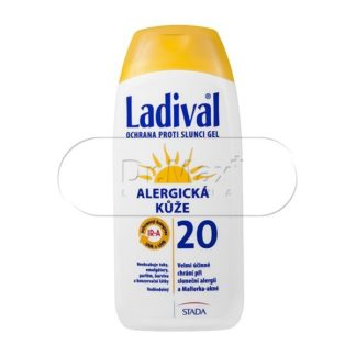 LADIVAL OF20 gel alergická kůže 200ml