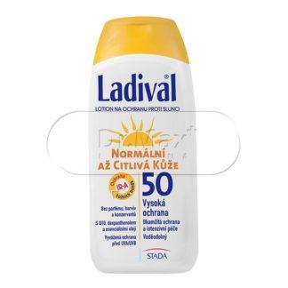 LADIVAL OF50 lotion normální až citlivá kůže 200ml