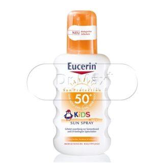 EUCERIN SUN SPF50+ Dětský sprej 200ml