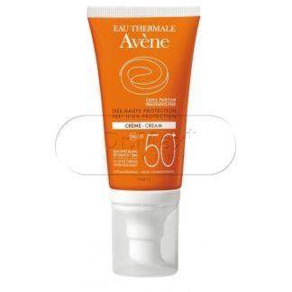 AVENE Opalovací krém bez parfemace SPF50+ 50ml