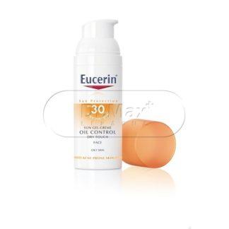 EUCERIN SUN SPF30 Gel na opalování na obličej OIL CONTROL 50ml