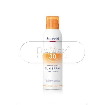 EUCERIN SUN SPF30 Transparentní sprej Dry Touch 200ml