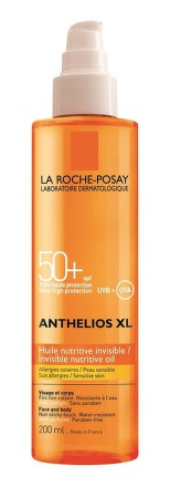La Roche Anthelios XL SPF 50+ Neviditelný výživný olej 200ml
