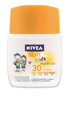 NIVEA SUN dět.mléko na opalování OF30 kapesní 50ml