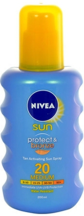 NIVEA SUN Olej na opal. Protect&Bronze OF20 200ml