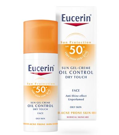 EUCERIN SUN Gel opalovací na obličej OIL CONTROL SPF50+ 50ml