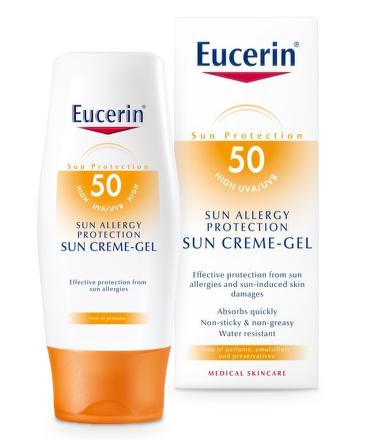 EUCERIN SUN Gel proti sluneční alergii SPF50 150ml