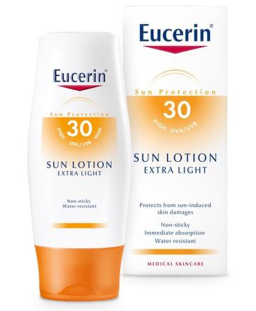 EUCERIN SUN Extra lehké mléko SPF30 150ml