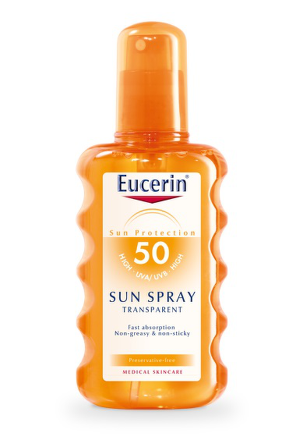 EUCERIN SUN Transparentní sprej SPF50 200ml