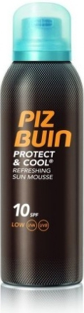 PIZ BUIN Protect&Cool Refr.Sun Mousse 10SPF 150ml