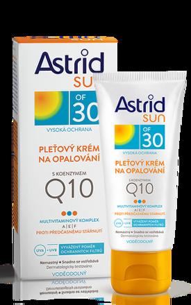 ASTRID SUN Pleťový krém s k. Q10 OF30 50 ml