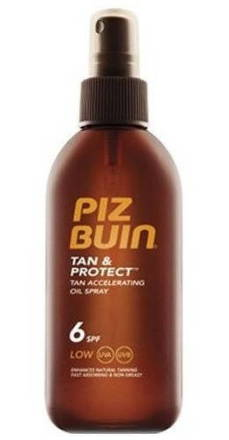 PIZ BUIN SPF6 Tan+Protect Oil Spray 150ml