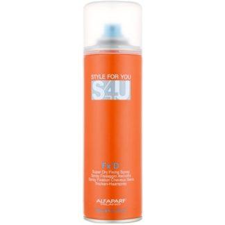 Alfaparf Milano Style for You (S4U) lak na vlasy (Fx'D Super Dry Fixing Spray) 300 ml