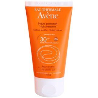 Avene Sun Sensitive ochranný tónovací krém na obličej SPF 30 (Water-Resistant
