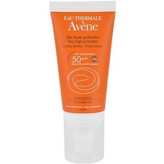 Avene Sun Sensitive tónovací krém na opalování SPF 50+ (Tinted Cream) 50 ml