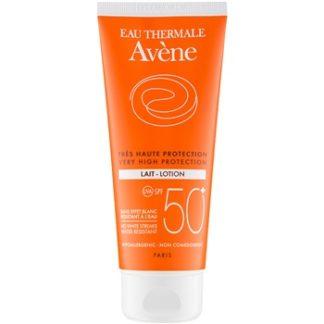 Avene Sun Sensitive mléko na opalování SPF 50+ Water Resistant (No White Streaks) 100 ml
