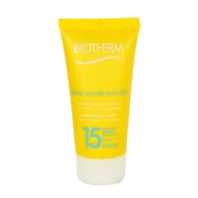 Biotherm Creme Solaire Anti-Age Face Cream SPF15 50 ml opalovací přípravek na obličej pro ženy