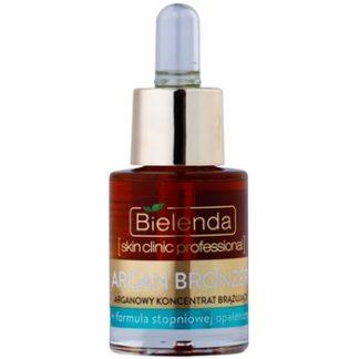 Bielenda Skin Clinic Professional Argan Bronzer samoopalovací olej na obličej (+ with Gradual Tan Formula) 15 ml