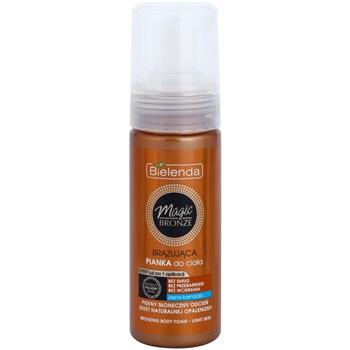 Bielenda Magic Bronze samoopalovací pěna pro světlou pokožku (Effect Holiday Skin) 150 ml