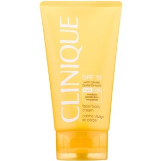 Clinique Sun krém na opalování SPF 15 (Face and Body Cream) 150 ml