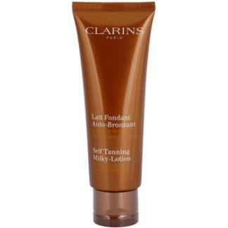Clarins Sun Self-Tanners samoopalovací krém na tělo a obličej s hydratačním účinkem (Self Tanning Milky Lotion) 125 ml