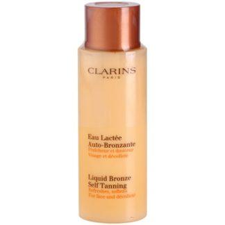 Clarins Sun Self-Tanners samoopalovací přípravek na obličej a dekolt (Liquid Bronze Self Tanning) 125 ml