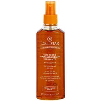 Collistar Sun No Protection olej na opalování bez ochranného faktoru (Supertanning Dry Oil) 200 ml