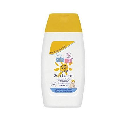 Sebamed Dětské opalovací mléko SPF 50 Baby (Sun Lotion) 200 ml