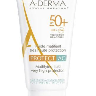 A-DERMA Protect AC Zmatňující fluid SPF50+ 40ml