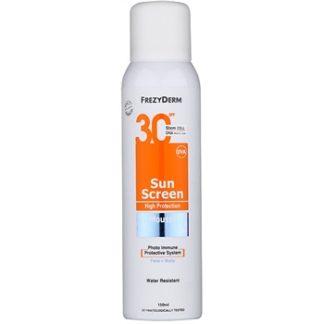 Frezyderm Sun Care opalovací pěna na obličej a tělo SPF 30 (Water Resistant