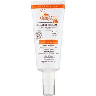 Gamarde Sun Care ochranný sprej na obličej a tělo SPF 10 (100% Natural